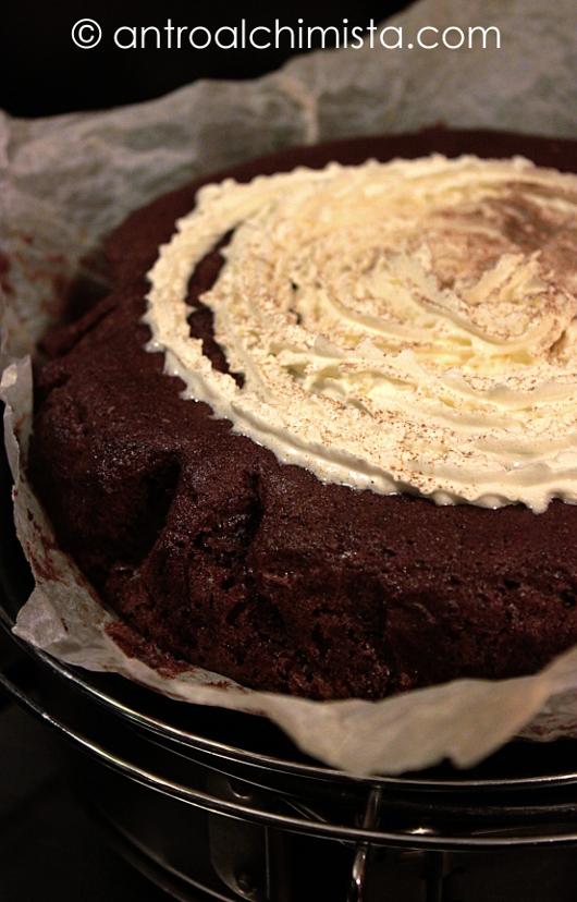 Torta Ricotta e Nesquik