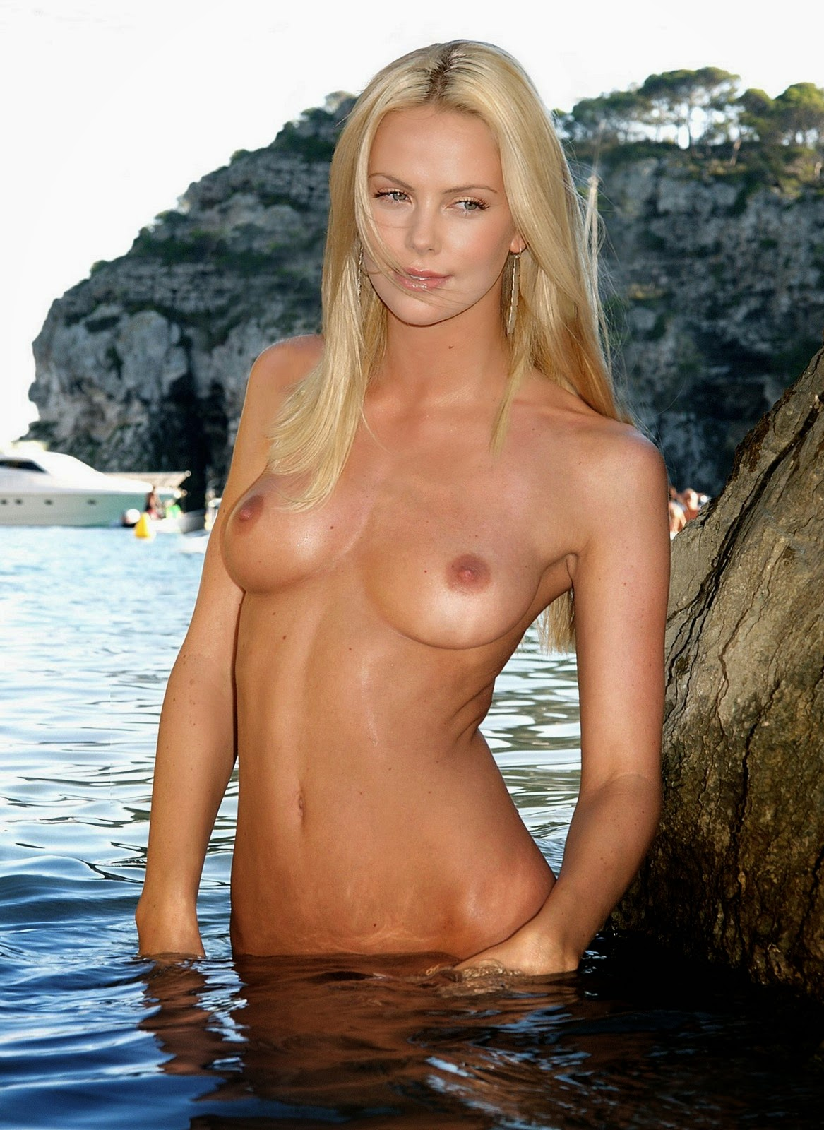 Charlize theron naked celebrity