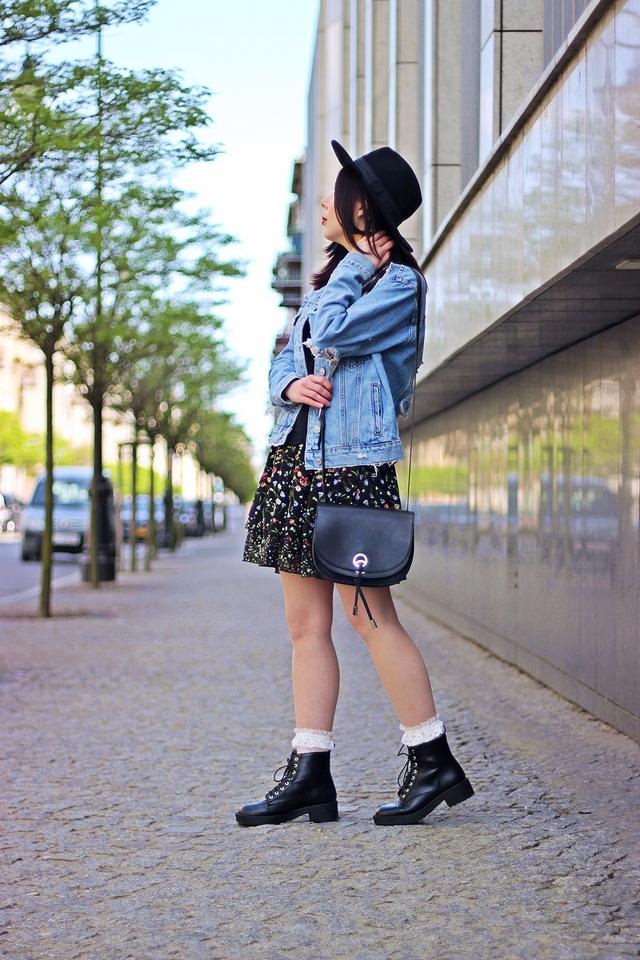 jak nosić kurtkę z dziurami blog modowy stylizacja