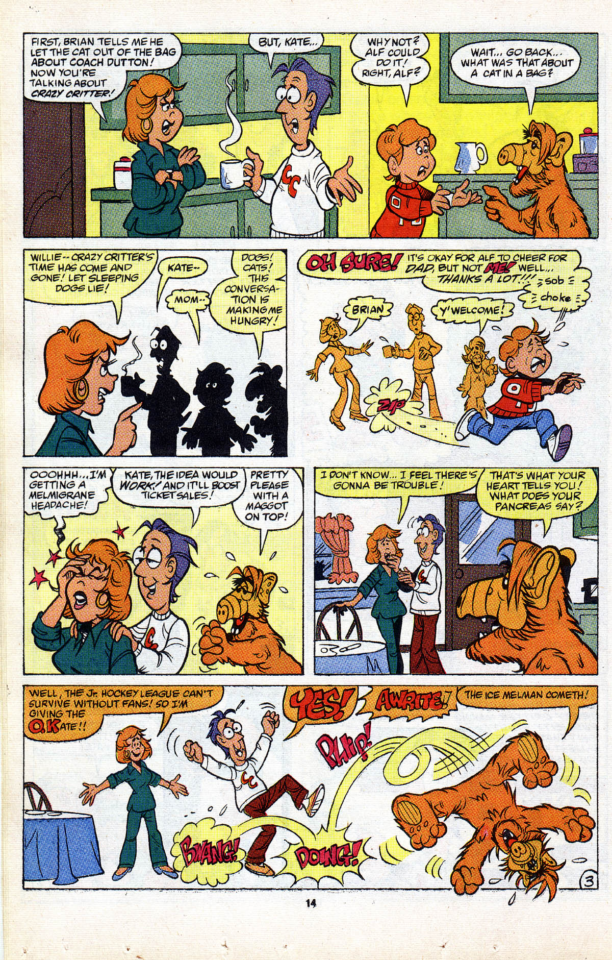Read online ALF comic -  Issue #2 - 16