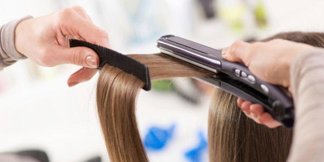 Kurangi pemakaian alat pemanas rambut