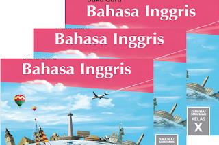 Download Buku Guru Bahasa Inggris Kelas 10,11,12 K13 Revisi 2017