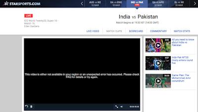 Débloquer Star Sports en dehors de l'Indie avec VPN Indie gratuit