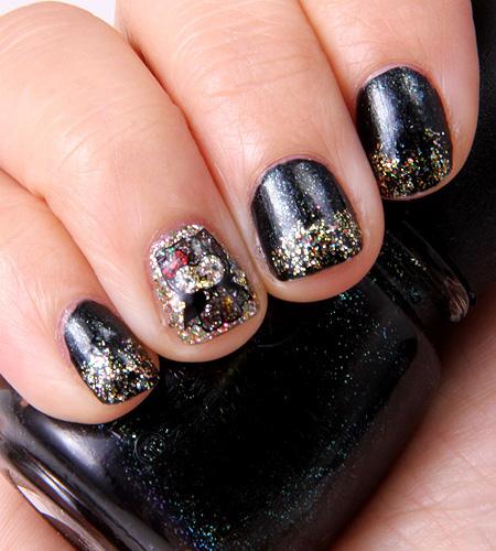 Dema Pixie: Halloween Nails- Hello Kitty Bat / LOTD