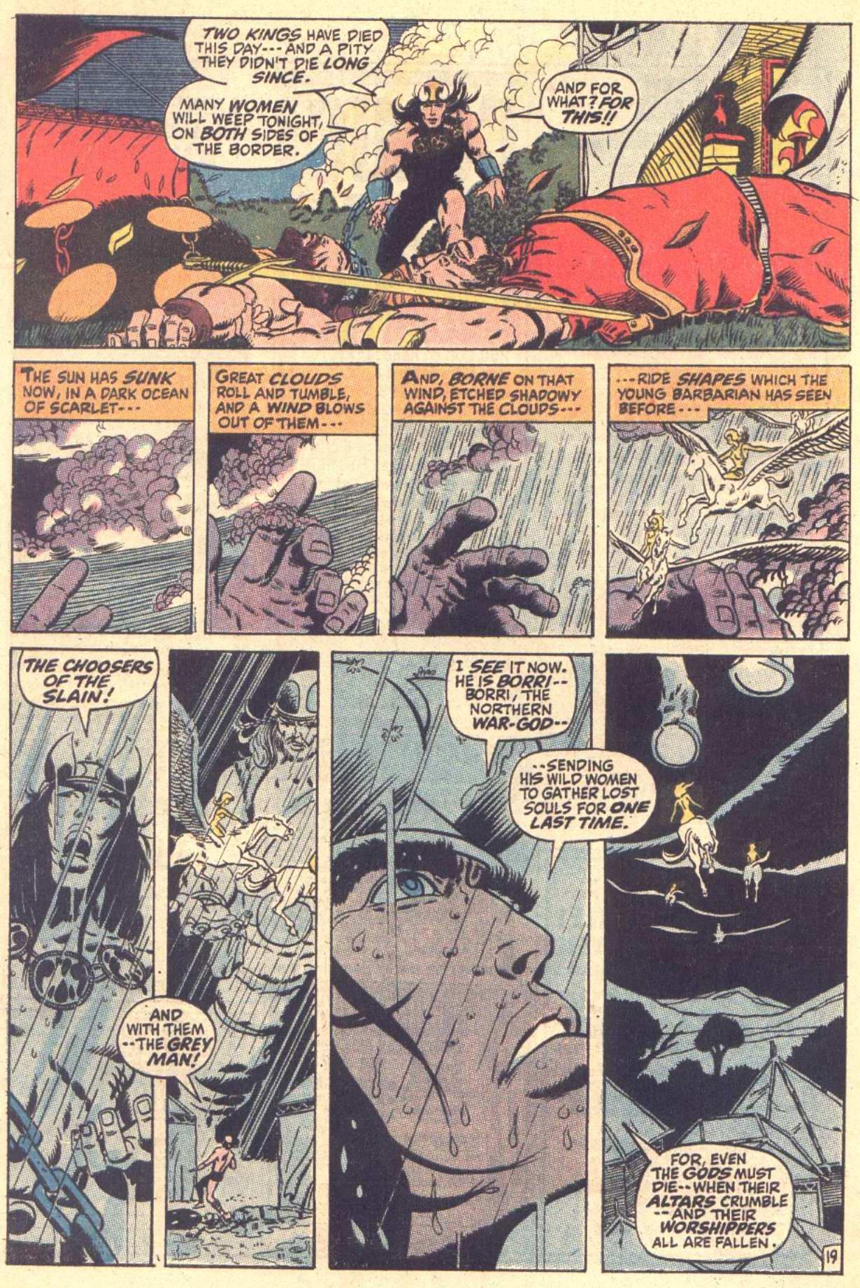 Conan the Barbarian (1970) Issue #3 #15 - English 20