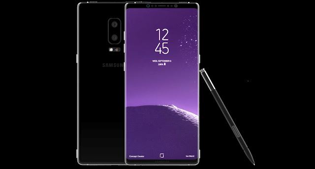 Samsung Galaxy Note 8 Concept Renders Are Stunning In Looks; Features Bixby Button, Dual Rear Camera, 6.4-inch Infinity Display