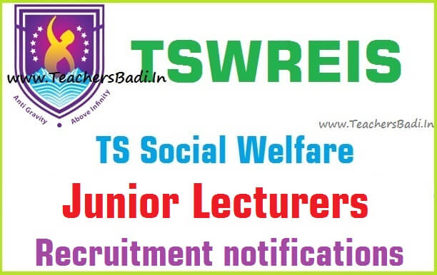 Tswreis,Junior Lecturers,Recruitment,application form
