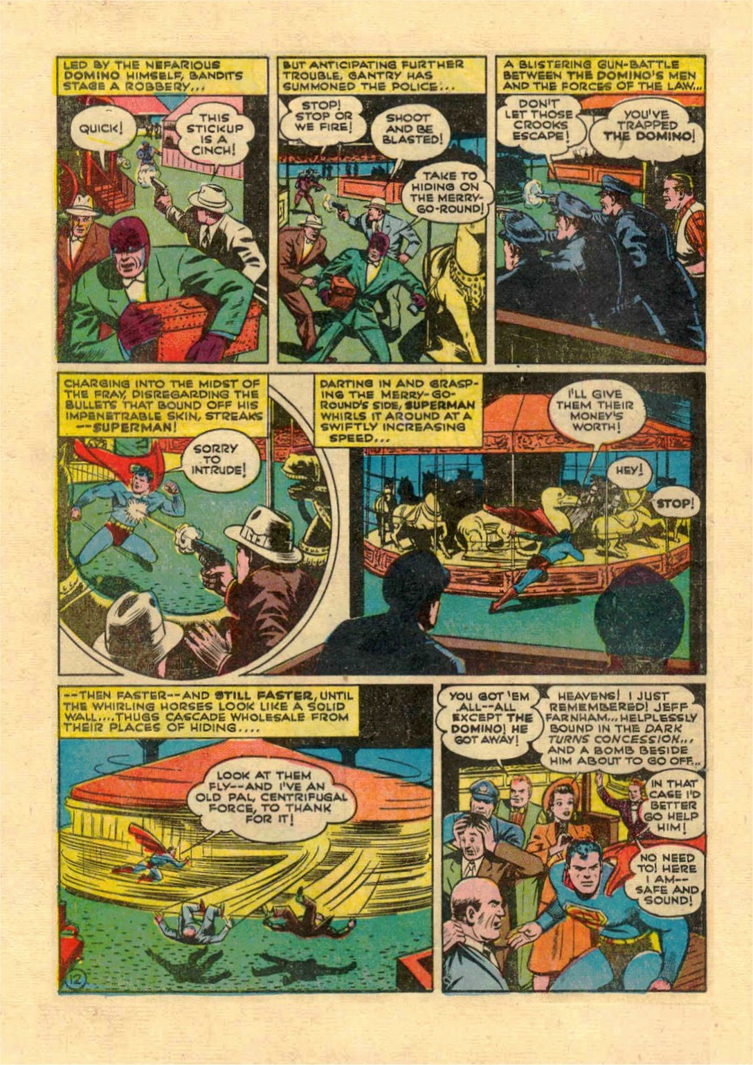 Read online Action Comics (1938) comic -  Issue #46 - 13