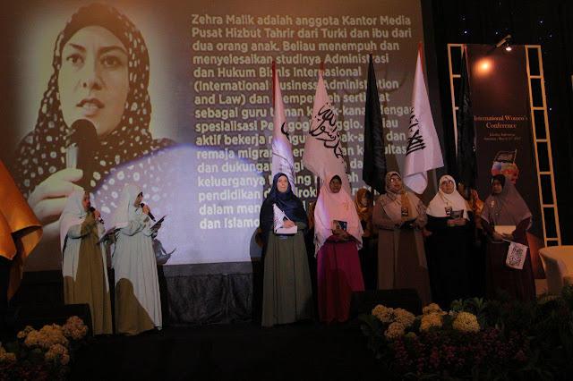 Divisi Muslimah HTI Kumpulkan 1.700 Perempuan Berpengaruh, dari Turki hingga Inggris