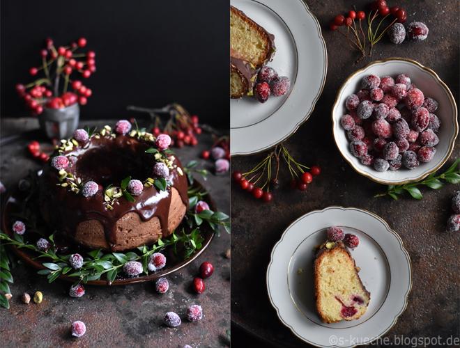marzipankuchen mit cranberries und schokolade s k che. Black Bedroom Furniture Sets. Home Design Ideas