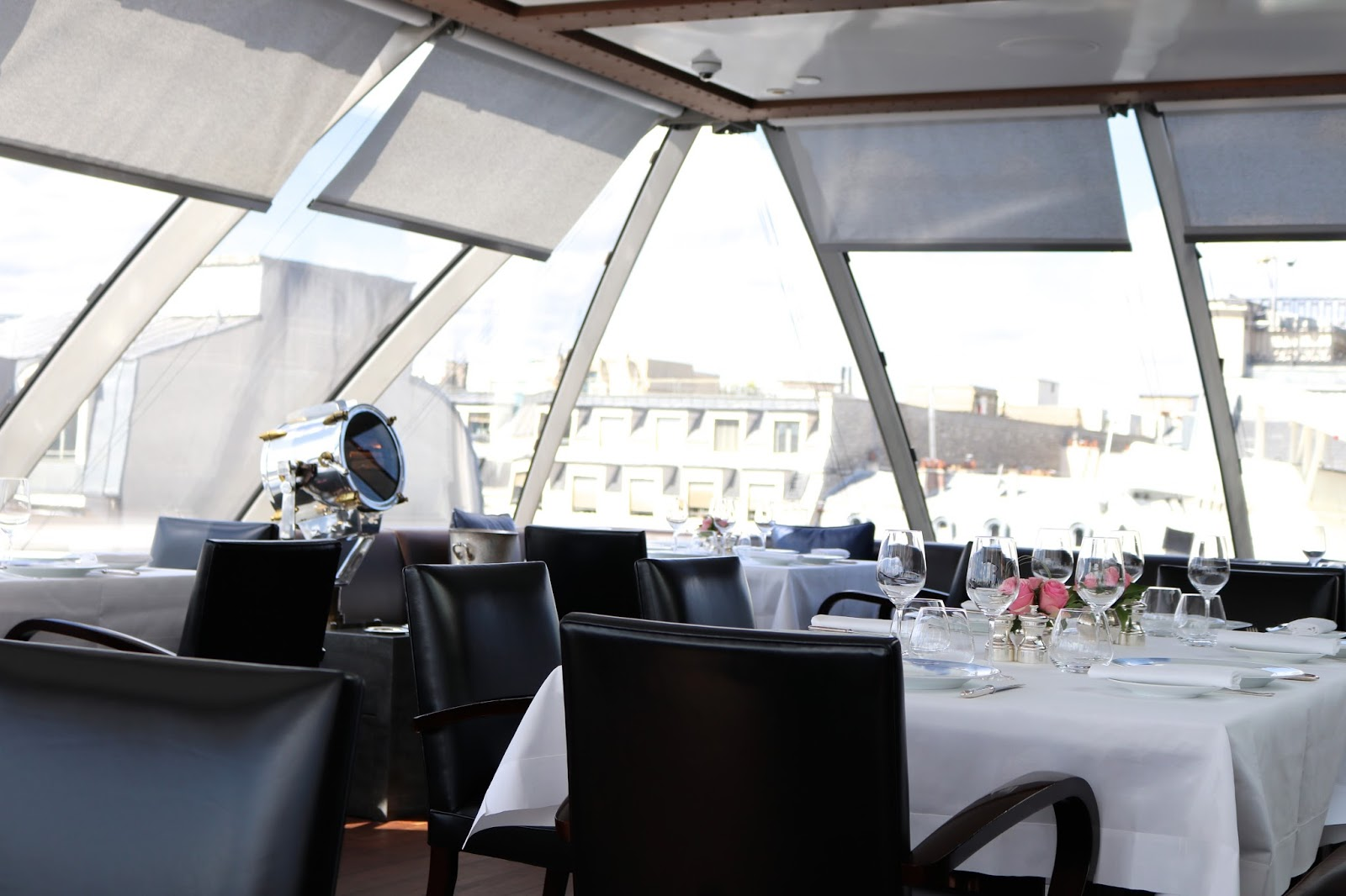 Restaurant L'Oiseau Blanc, The Peninsula Paris Hotel, Paris, France