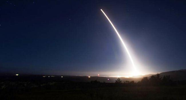 Peluncuran rudal balistik Minuteman III