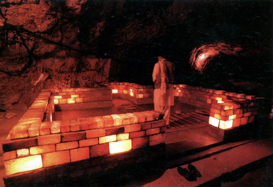 Salt Mosque, Khewra Salt Mines, District Jehlum, Pakistan