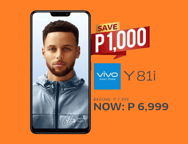 Vivo Y81i Receives a Price Drop now priced at PHP6,999