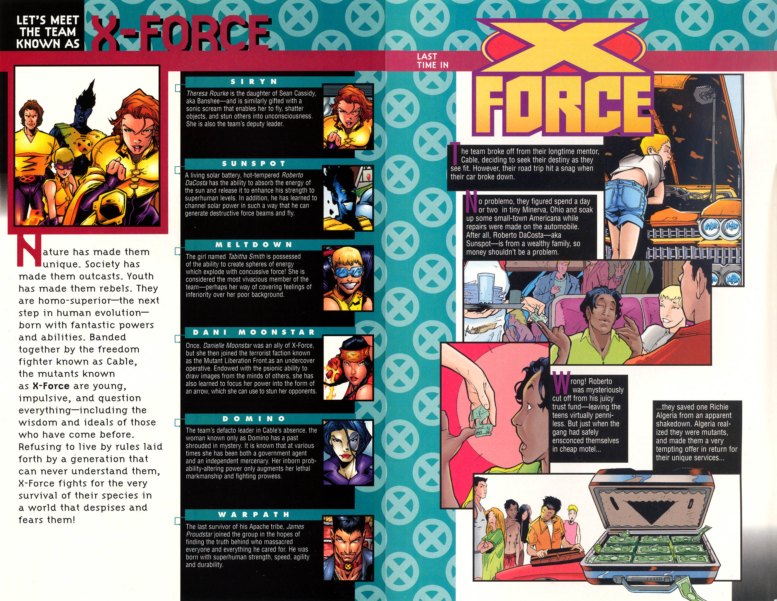 Read online X-Force (1991) comic -  Issue #72 - 3