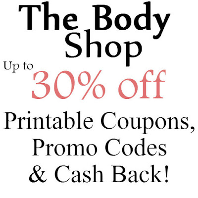 The Body Shop Promo Code January 2016, February 2016