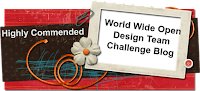 Highly Commended Award With World Wide Open Design Team Challenge Blog