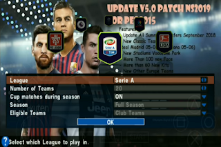 Download PES 2015 Mod 2019 HD PPSSPP Update Winter Transfer 2019