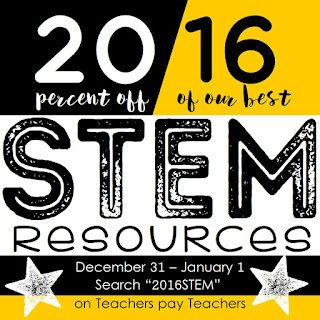 2016 STEM New Year's STEM Sale