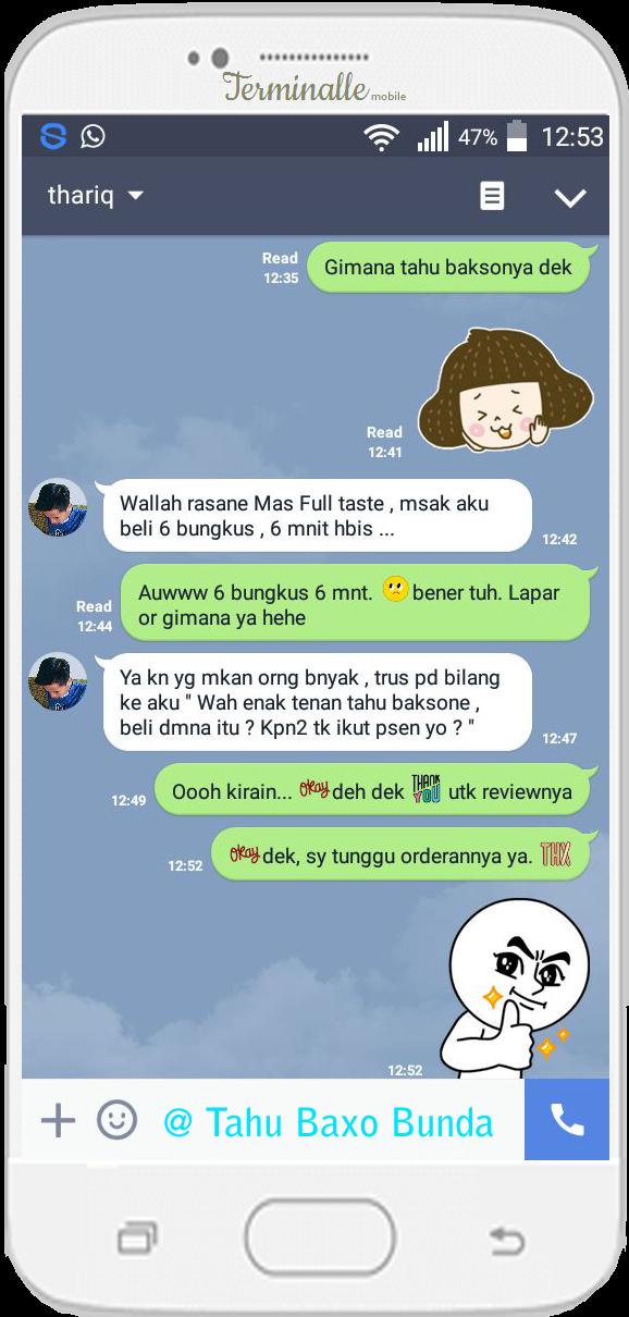 Oleh Thariq - Jawa Tengah ( Depok - Purwodadi ) @TahuBaxoBunda