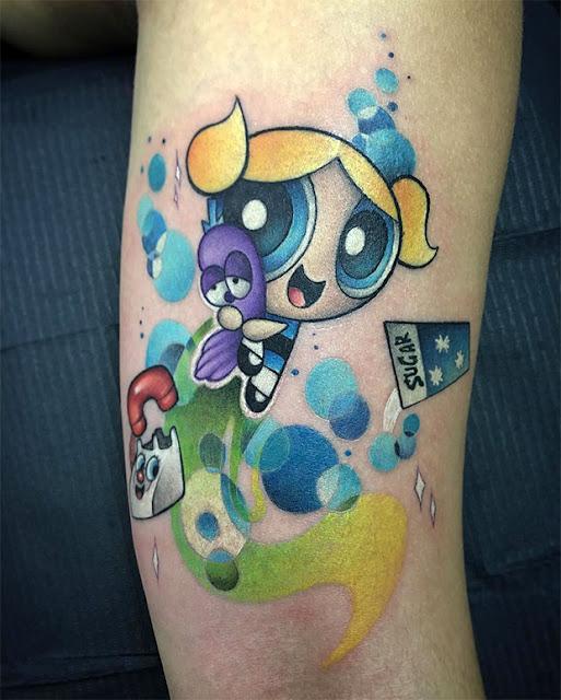 tatuagens das Meninas Superpoderosas
