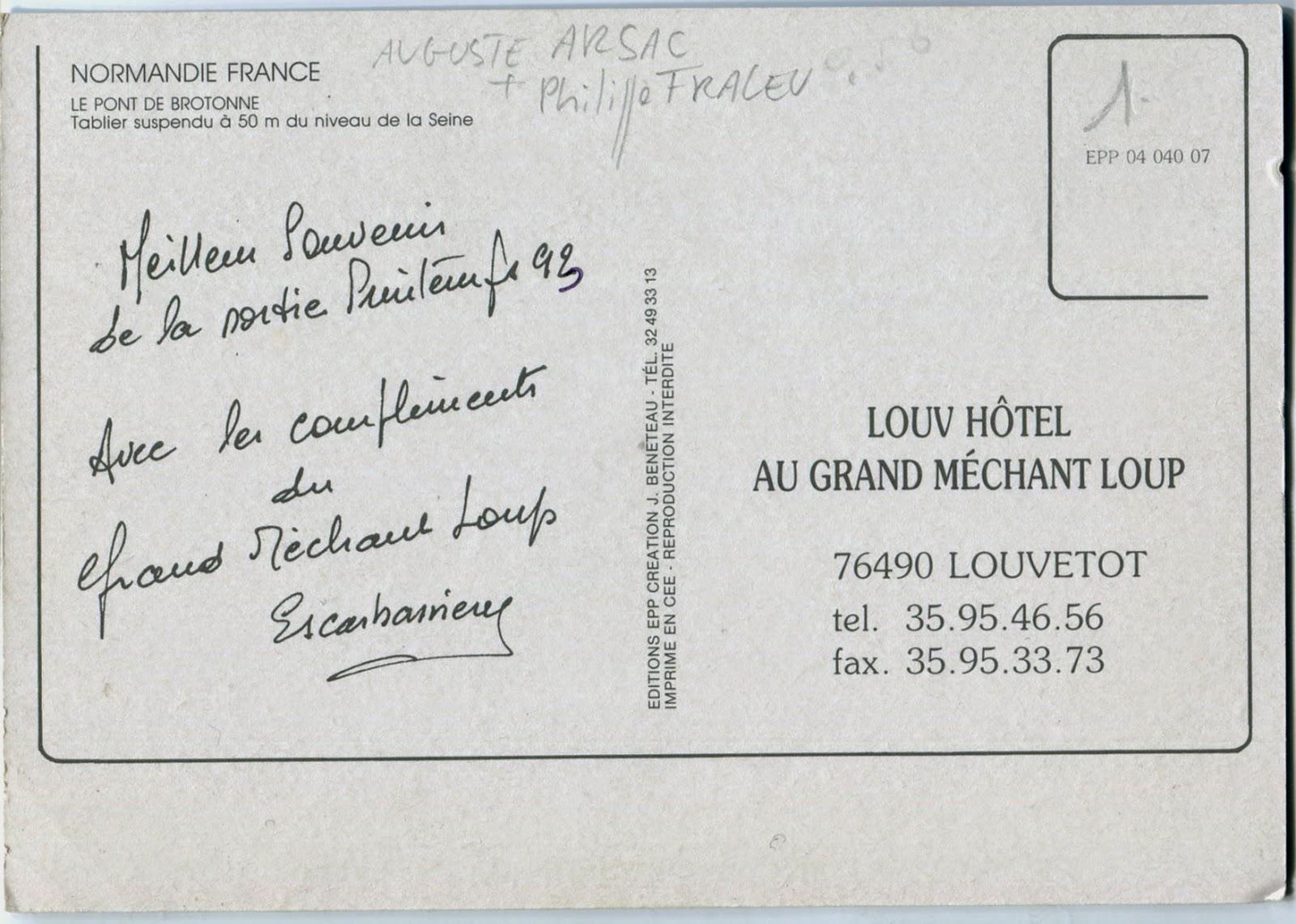 texte marrant pour carte postale Architectures de Cartes Postales 2