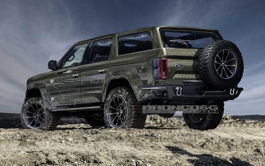 2020 Ford Bronco Interior (New, 4 Door And Specs)
