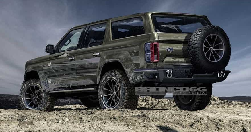 2020 Ford Bronco Interior (New, 4 Door And Specs) - CarFoss