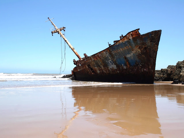 Relitto Skeleton Coast