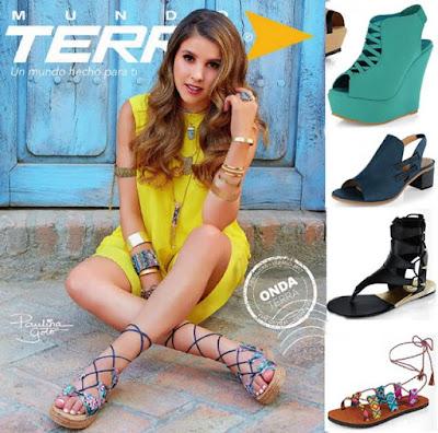 catalogo terra zapatos de moda teens