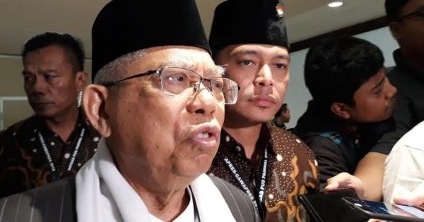 Ma'ruf Amin: Orang Sehat Bisa Lihat Prestasi Jokowi, Kecuali 'Budek-Buta'