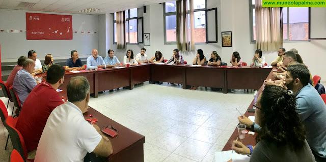 La Comisión Ejecutiva Insular de PSOE La Palma da su respaldo unánime a la moción de censura presentada en el Cabildo