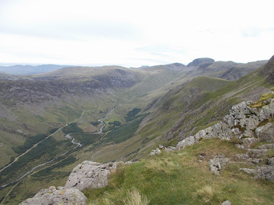 walking in the lakes - ennerdale from pillar