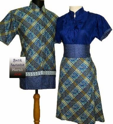 Gambar Dan Desain Model Baju Batik Modern Untuk Wanita Terbaru