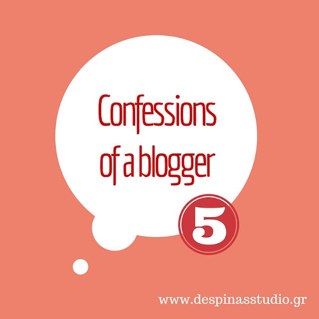 Confessions of a blogger #5 με θέμα τα μπαζάρ