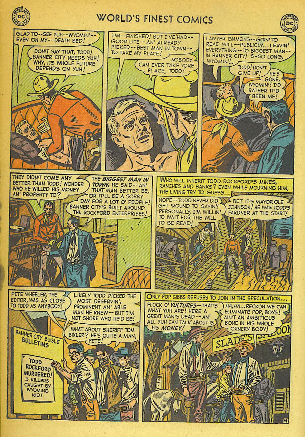 Read online World's Finest Comics comic -  Issue #57 - 32