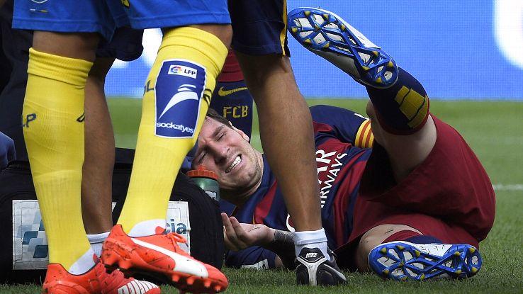Messi có thể nghỉ thi đấu hai tháng