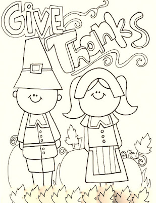 giving thanks to god coloring pages