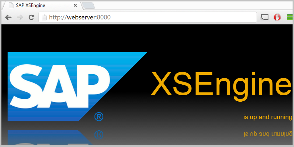 HANA Tutorials: How to check SAP HANA XS engine status?