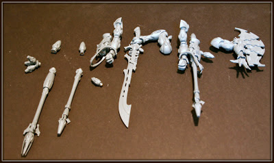 Wraithknight weapon options magnetized