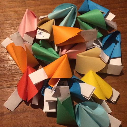 origami gelukskoekjes juffendag