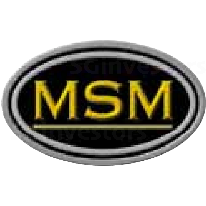 MSM INTERNATIONAL LIMITED (SGX:5QR) @ SGinvestors.io