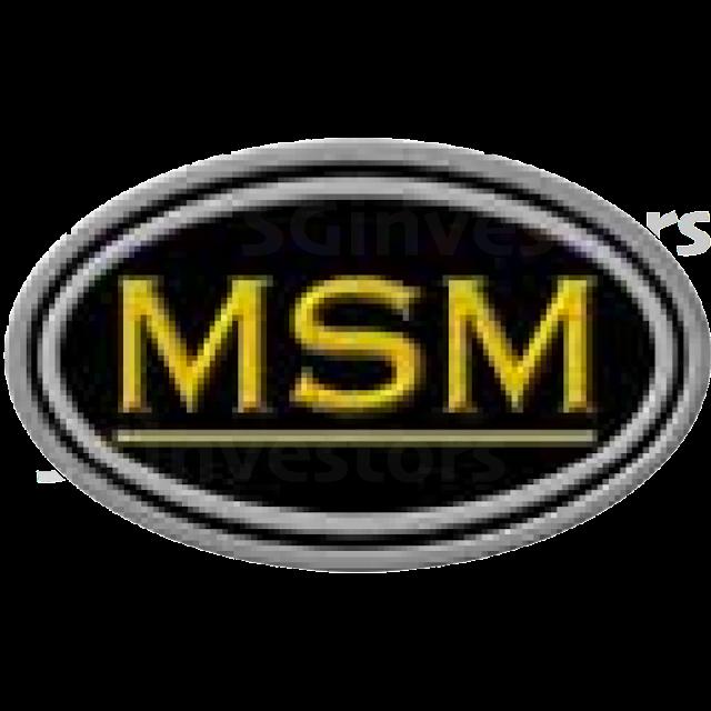 MSM INTERNATIONAL LIMITED (5QR.SI) @ SG investors.io