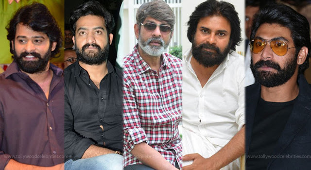 Tollywood Top Hero's With Beard In 2016