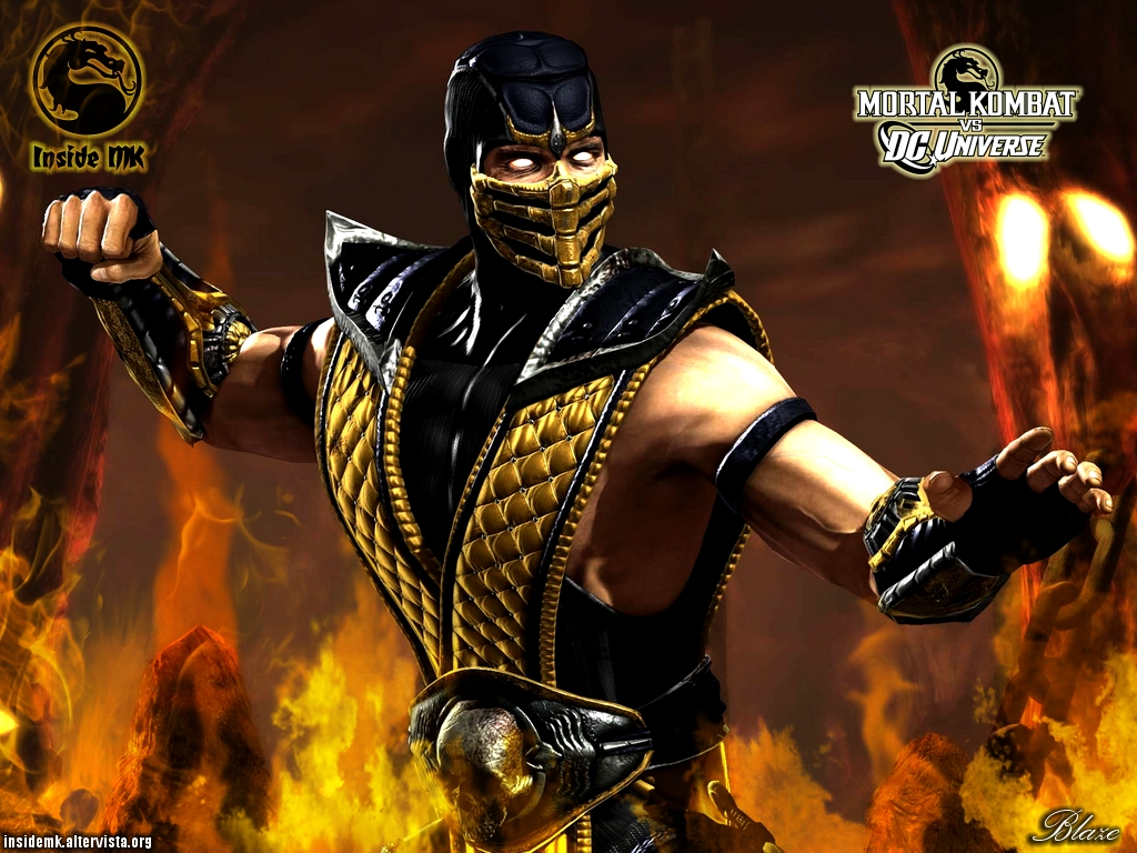 Kane Blog Picz Wallpaper Dc Vs Mortal Kombat
