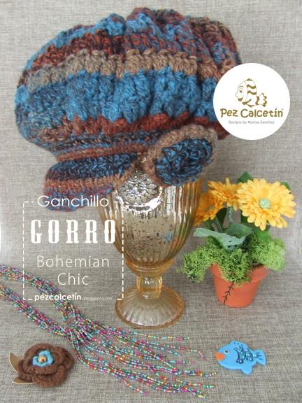 """""""gorro ganchillo"""" """"boho chic"""" """"pez calcetin""""  """"lanaterapia"""" """"crochet"""" """"hygge"""""""