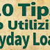 10 Tips To Utilizing Payday Loans
