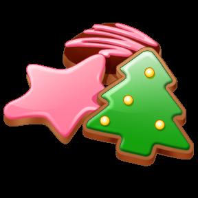 chocolate cranberry christmas cake