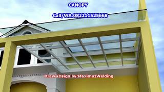 Kanopi-Canopy-Bengkel-Pagar-Tralis-CitraRaya-MAXIMUZ WELDING