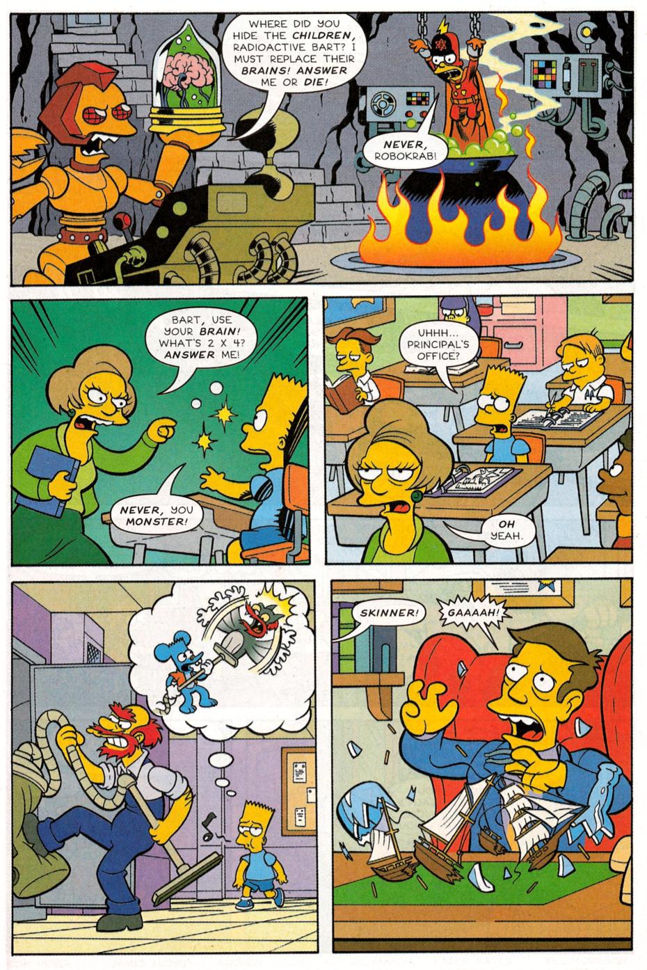 Read online Simpsons Comics Presents Bart Simpson comic -  Issue #30 - 16